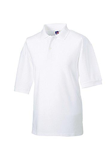 Jerzees Pique Polo Shirt 5XL White