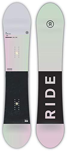 Tabla De Snow para Mujer Ride 2019 Compact - 146Cm Verde-Rosado (Default, Verde)