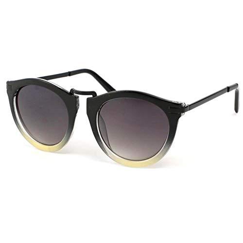 Eye Wear Lunette Soleil Rosita avec monture Noire et Grise - Mixte