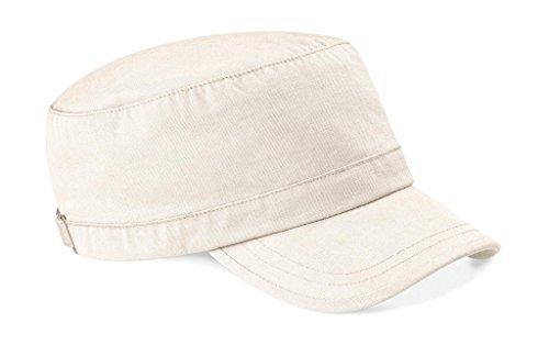 Beechfield Unisexe B034. NAT armée Cap, Noir, Taille Unique