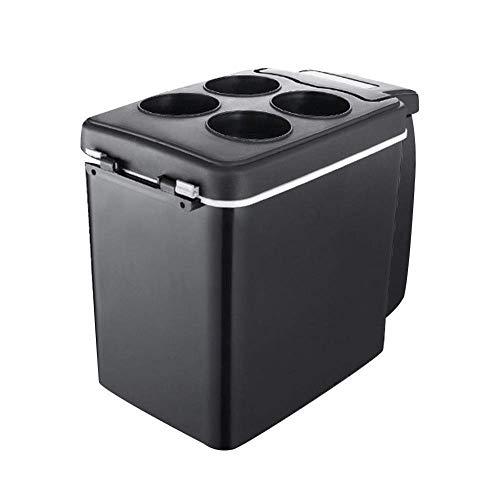 RTRD Mini refrigerador de Nevera, refrigerador de compresor portátil congelador eléctrico refrigerador eléctrico Camping para Viajes, Picnic- Negro