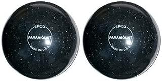 EPCO Duckpin Bowling Ball- Speckled Houseball - BlackBalls - 2 Balls