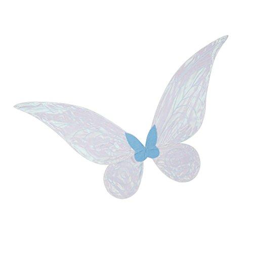 Gazechimp Blau Fee Flügel Kostüm Zubehör - Erwachsene