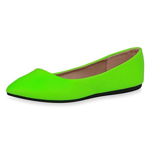 SCARPE VITA Dames Klassieke Ballerina Lederlook Schoenen Pantoffel Vrijetijdsschoenen Slip On Flats Flat Uitgaansschoenen