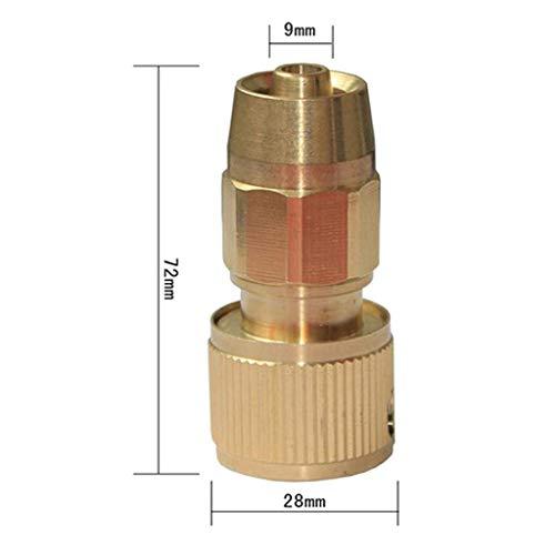 newwyt 3/8 pulgadas de cobre tubo telescópico conector de latón Magic Gardening extensible para lavado de coche