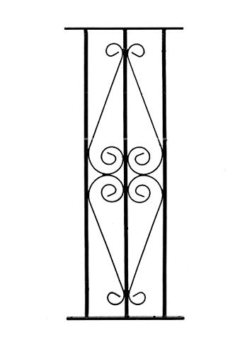 Ascot Scroll Metal Deck Decking Fence Fencing Panel DPAB