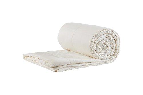 Sleep and Beyond Wool Comforter, 100% Natural Washable Wool Duvet Blanket, King, 102x90in