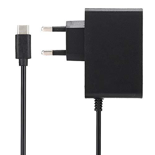 para Nintendo Switch Adaptador de Corriente Corriente Constante y Voltaje DC 5V/2.4A Cargador 50/60Hz, Material ABS(EU 100-240V)
