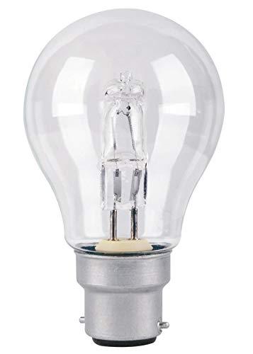 ZYHJ Eco-Halogen-Leuchtmittel, 70 W = 91 W, B22-Bajonettsockel, A55, energiesparend, dimmbar, 220–240 V, B22, 70 W = 91 W, 3 Stück