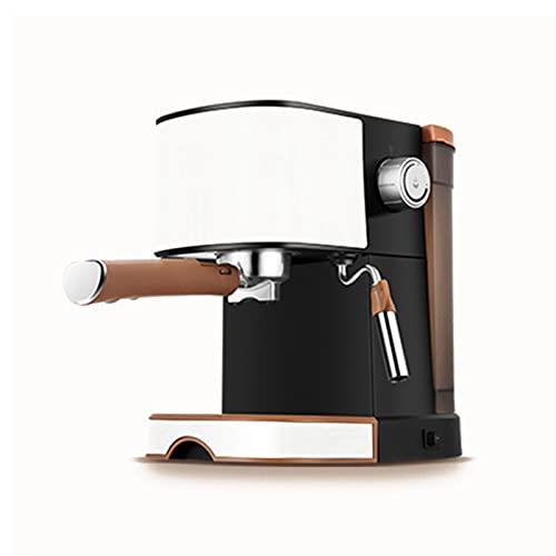 Espresso maszyna do kawy, ekspres do kawy, maszyna do kawy, ekspres do kawy z mlekiem frotheat, maszyna do kawy, do kawiarni, barista, imprez, domu, biura itp. (Color : Brown)