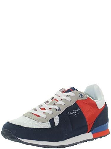 Zapatillas Deporte de Mujer y Niño y Niña PEPE JEANS PBS30428 Sydney 595 Navy Talla 40