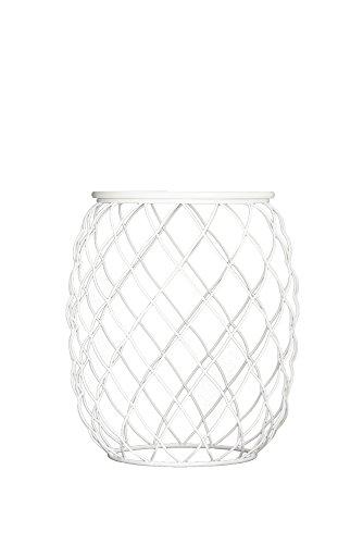 Magis – Pina Table Basse d'extérieur, en métal, Blanc