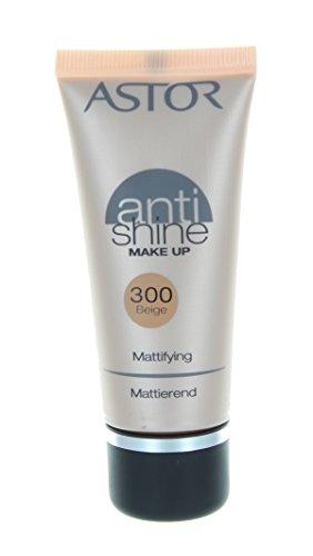 Astor Anti Shine Make Up, Farbe 300 Beige, 1er Pack (1 x 30 ml)