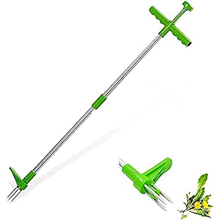Manual Weeders with 3 Stainless Steel Claws 39 Long Tool Aluminum ...