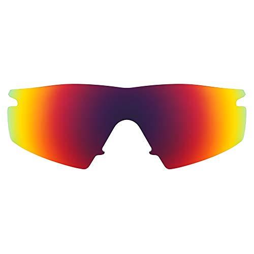 Revant Lentes de Repuesto Compatibles con Gafas de Sol Oakley M Frame Strike, Polarizados, Sol de Medianoche MirrorShield