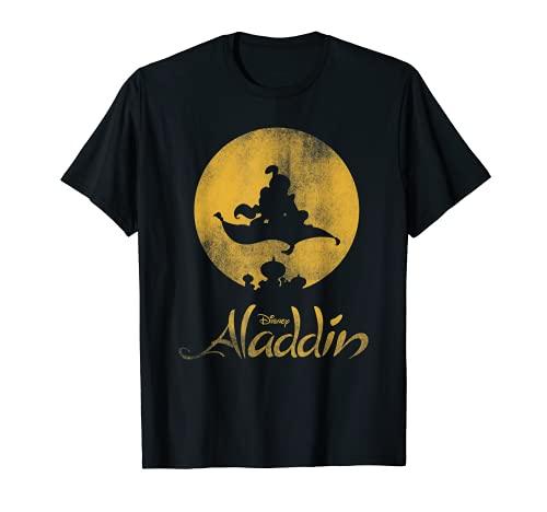 Disney Aladdin Magic Carpet Silhouette Camiseta
