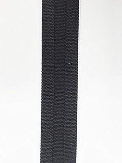 Broadcloth centerfold bias 12 in Wide 25 yds Black