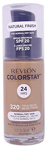 Revlon Colorstay SPF 20 Makeup Foundation for Normal/Dry Skin, True Beige, 1 Ounce