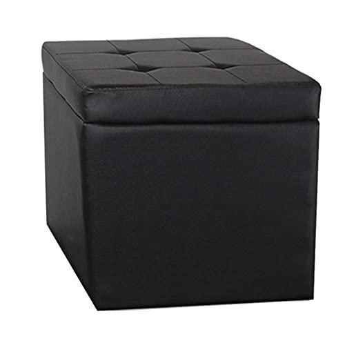YQG - Organizador de posavasos de piel para sillas, 2 tamaños, 7 colores (color negro, tamaño: 30 x 30 x 32 cm)