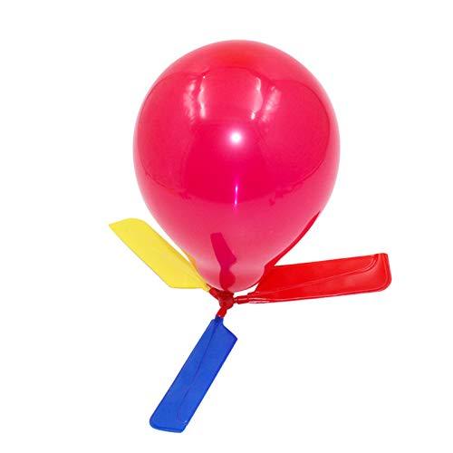 Gjyia Juego de juguete para niños con globos y helicópteros