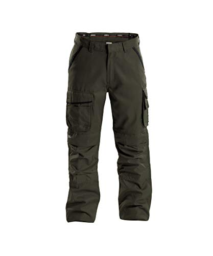 Dassy Connor 200893 Work Trousers Olive/Black - W36Reg