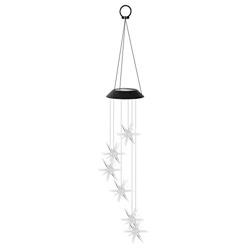 Cloudbox Wind Chime Lamp-LED Solar Wind...