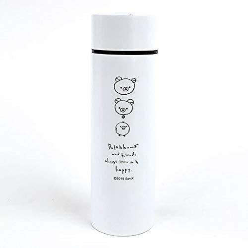SAN-X リラックマ ポケトル WH リラックマ コリラックマ 水筒 ボトル まほうびん ホワイト