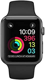Apple Watch Seires 4 44mm (GPS) - Caja De Aluminio En Gris Espacial / Negro Correa Deportiva (Reacondicionado)