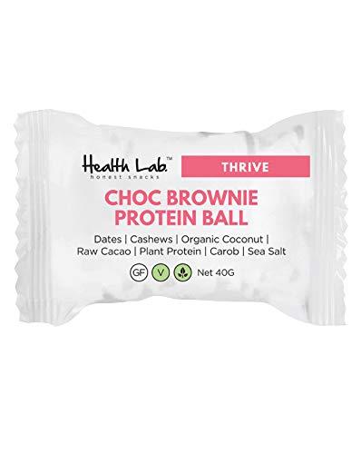 Health Lab Schokoladen Brownie Protein Balls 40gm x 12