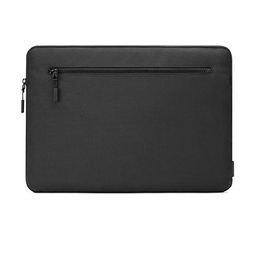 Pipetto MacBook Pro/Air 13 Inch Sleeve Organiser Protective Case | Internal Pocket & Memory Foam Lining - Black