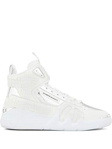 Giuseppe Zanotti Luxury Fashion Design Uomo RM00054002 Bianco Pelle Hi Top Sneakers | Primavera-Estate 20