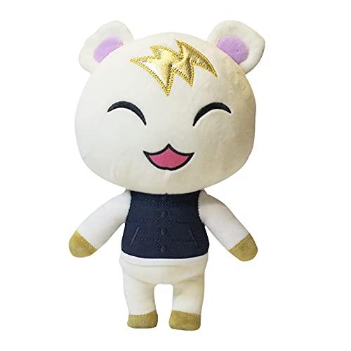 Yunbai Animal Crossing Peluche, Dessin animé Animal en Peluche Peluche Mignon Chat Peluche Peluche en Peluche ( Color : Color2 , Size : 26cm )