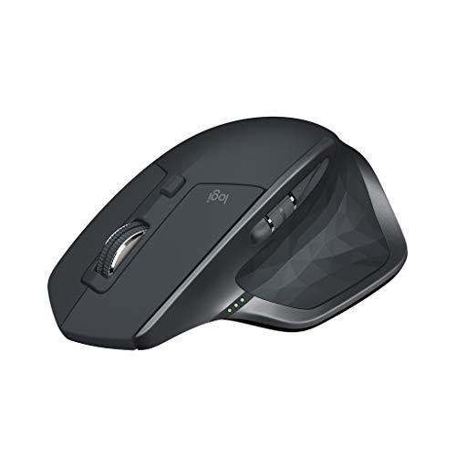 ロジクール ワイヤレスマウス 無線 マウス MX Master 2S MX2100sGR Unifying Bluetooth 高速充電式 FLOW対...