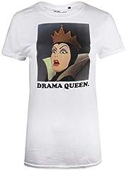 Disney Snow White-Drama Queen Camiseta para Mujer