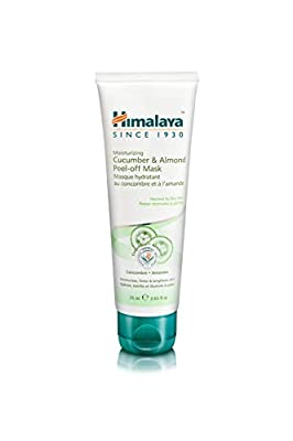 Himalaya Almond and Cucumber Peel-Off Mask, Removes Blemishes, Dead Cells and Impurities, 75 ml
