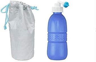 650 ml Large Portable shattaf Bidet Bottle Handheld Travel Toilet shataf Hand Spray Seat Water-Blue