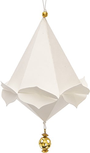 Luna Bazaar Mini Pizzelle Snowflake Origami Ornament...