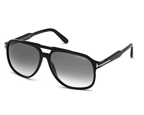 Gafas de Sol Tom Ford RAUL FT 0753 BLACK/GREY SHADED 62/14/140 hombre
