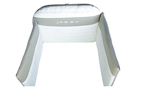 Dilibest by Picci Paracolpi - Nestchen Mod. 15 Miro Gris/beige pour lit d'enfant