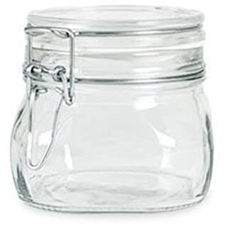 Bormioli Rocco Fido Italian Glass Facet Storage Canning Jars -.5 Liter (B0018MRAU2) | Amazon price tracker / tracking, Amazon price history charts, Amazon price watches, Amazon price drop alerts