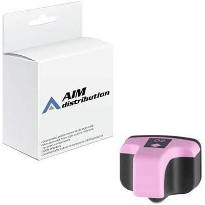 AIM Compatible Replacement for HP NO. 02 Light Magenta Inkjet (240 Page Yield) (CB284W) - Generic