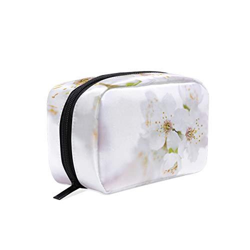 Trousse de maquillage pochette cosmétique pochette de fleurs de cerisier