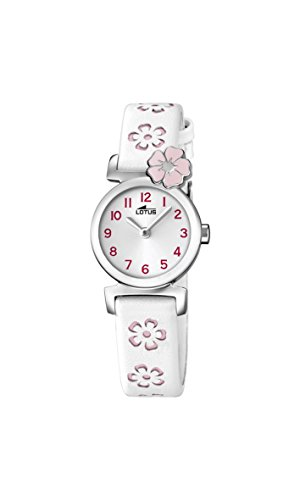 Lotus Reloj Análogo clásico para niñas de Cuarzo con Correa en Cuero 18174/2