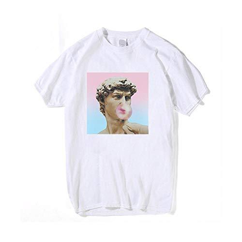 YDXC Camiseta De Verano para Mujer con Estampado De Manga Corta Estética Viper Aplicar Al Ejercicio De Uso Diario Correr Ciclismo Gimnasio Etc-08_XXXL