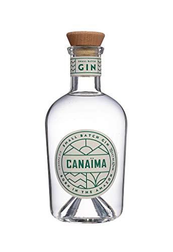 Canaima Small Batch Gin 700 ml mit Palmfrüchten tropisch süßer Geschmack intensive Kräuter- und Zitrusnoten