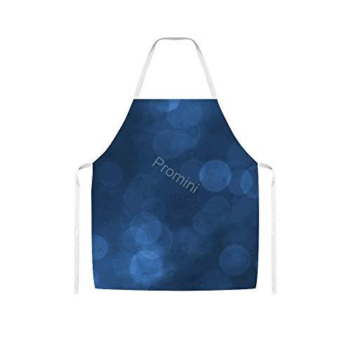 Promini 100% Polyester Adult Apron, Keuken Apron, Koken Bakken Schorten Zonder Zakken, Chef Schort Voor Mannen En Vrouwen - VI-328 Achtergrond