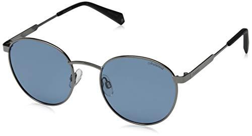 Polaroid PLD 2053/S C3 PJP 51 Gafas de sol, Azul (Bluette/Grey Pz), Unisex Adulto