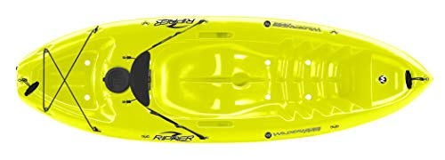 Wilderness Systems Ripper | Sit on Top Recreational Kayak | Stable and Quick | 8' | Infinite Yellow