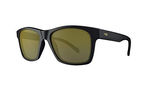 Óculos de sol UNAFRAID HB AdultoUnissex Preto/Ouro Único