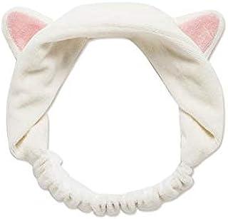 Cute cat ears Headband hair hoop flannelette comfortable make-up beauty face headband